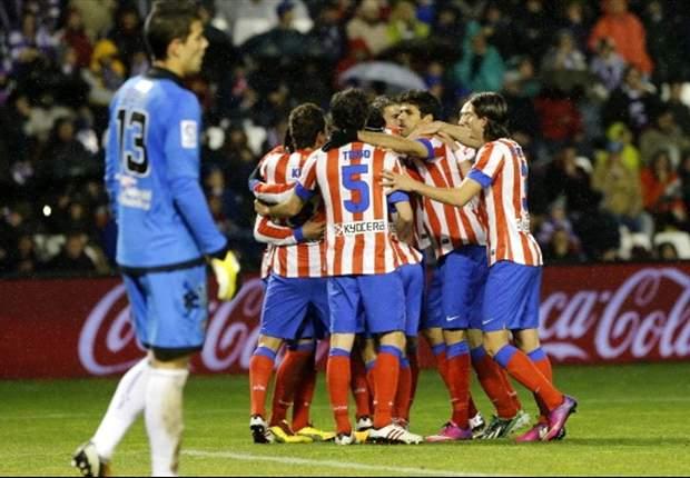 Valladolid 0 x 3 Atlético Madrid: Colchoneros vencem fora e 'seguram' o Barça