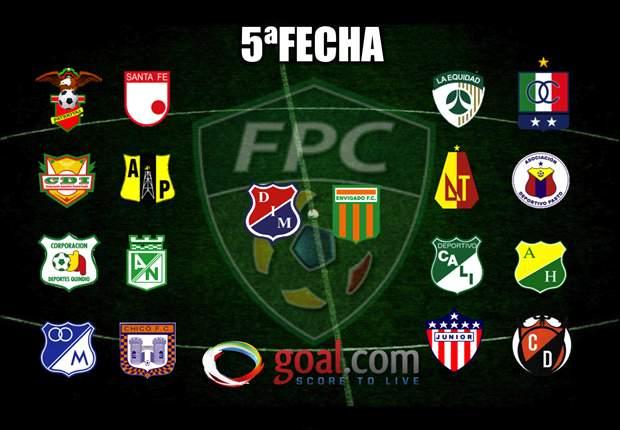 FPC: Así se jugará la quinta fecha