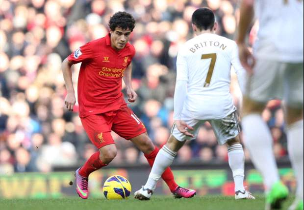 Suarez is phenomenal, says Liverpool's Coutinho