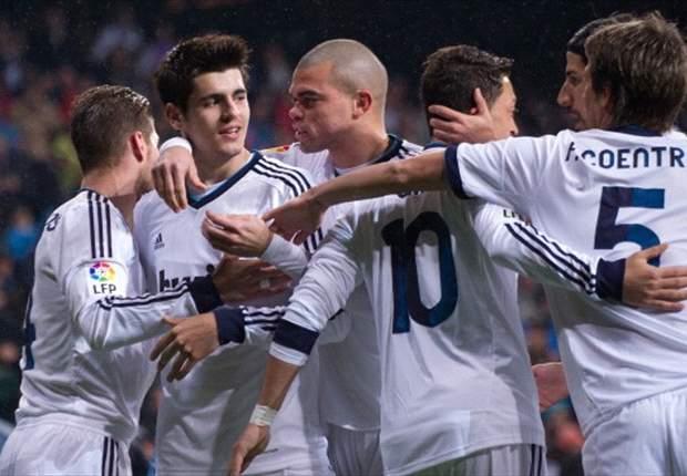 Real Madrid-Rayo Vallecano 2-0: Derby alle Merengues nonostante il rosso a Ramos, Mourinho festeggia la 100ª nella Liga