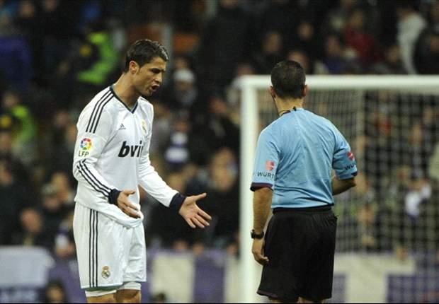 Cristiano Ronaldo amagó con golpear a un recogepelotas