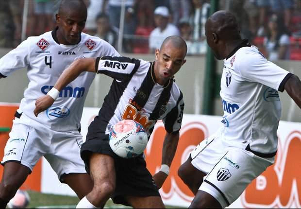 Atlético-MG 3 x 0 Araxá: Bernard faz golaço, Galo vence a segunda e lidera