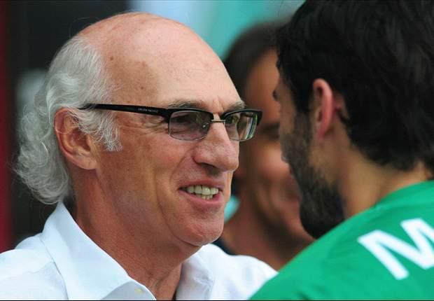 Carlos Bianchi, conforme con el punto