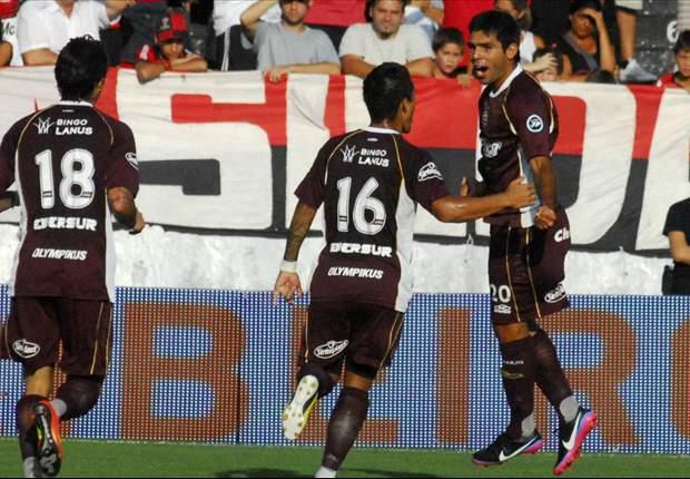Newell's 0-3 Lanús: El Granate continuó su marcha triunfal en Rosario