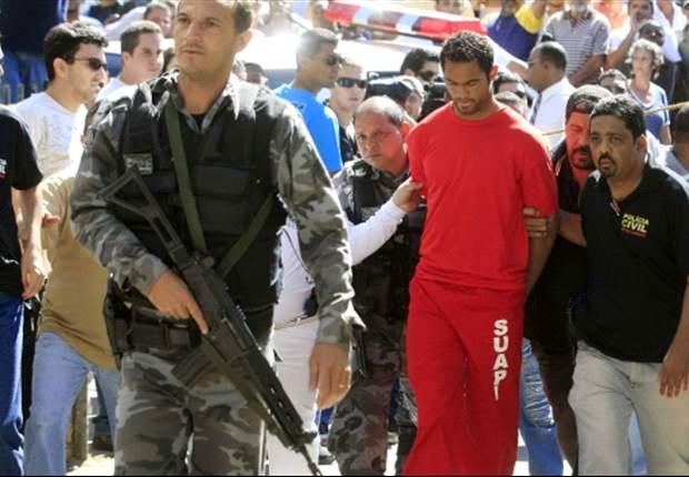 Mantan Kiper Flamengo Didakwa Bunuh Kekasihnya