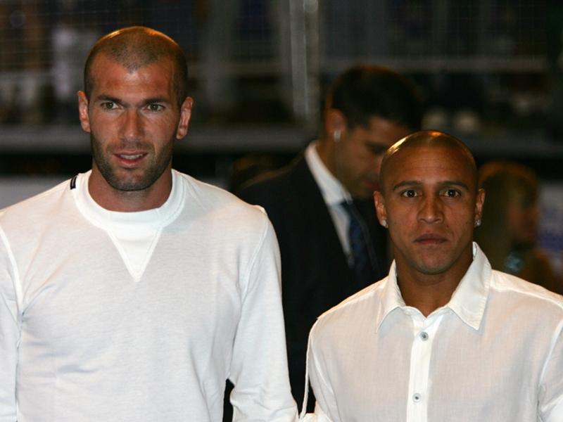 Roberto Carlos juge le travail de Zidane au Real Madrid