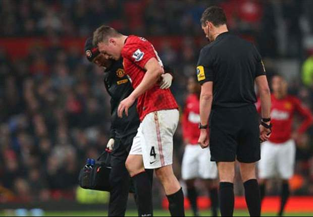 Man Utd: Phil Jones se machuca e é dúvida contra Real Madrid