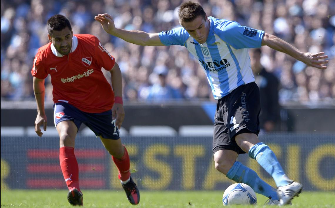Los últimos cinco cruces entre Independiente y Racing