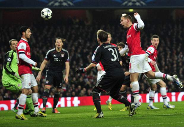 Bastian Schweinsteiger Pasang Badan Soal Gol Arsenal
