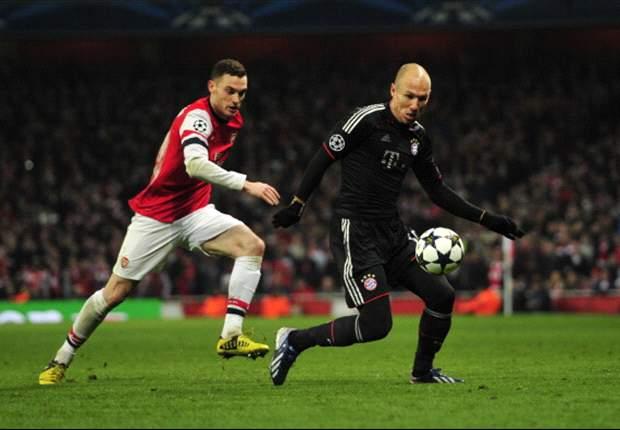 TEAM NEWS: Vermaelen on the bench as Rosicky starts for Arsenal against Bayern Munich
