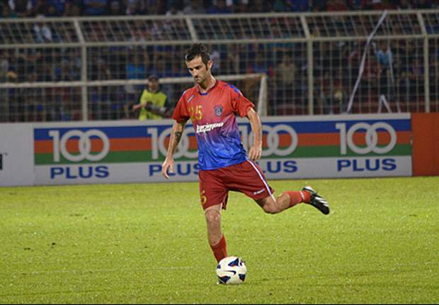 Del Nero still training with Darul Takzim