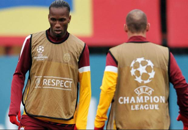 Drogba y Sneijder, titulares en el Galatasaray