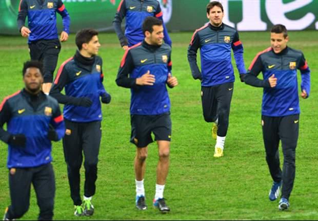 El Barcelona vuelve al trabajo pensando en el Real Madrid