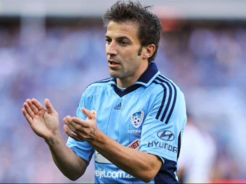 Del Piero, Ono lead way in A-League All-Star voting
