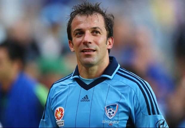 Del Piero perto de renovar com o Sydney F.C.