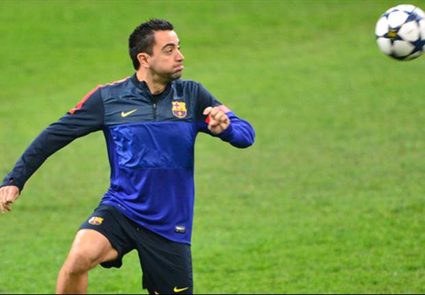 Xavi passed fit for crucial Milan tie