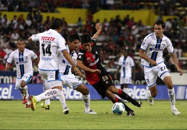 Querétaro 0-0 Atlas: Un frio empate en la Corregidora
