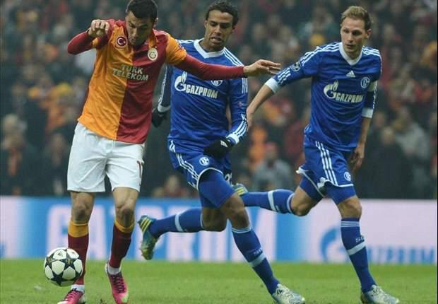Galatasaray 1-1 Schalke: Un césped impropio de la Champions