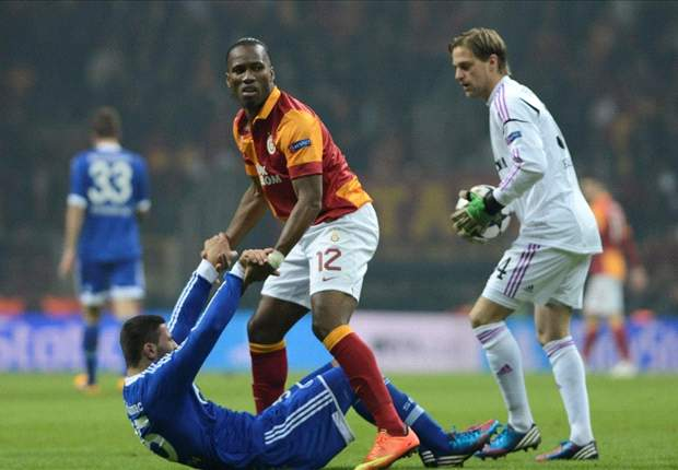"""Der FC Schalke 04 erkämpft sich ein 1:1 in der """"Hölle"""" bei Galatasaray Istanbul"""