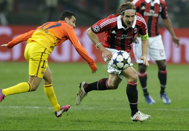 Ambrosini: Milan-Barcelona tie '50-50' despite advantage from first leg