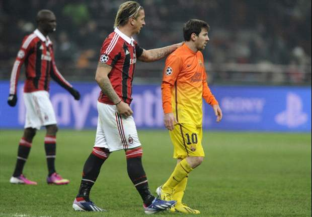 Ambrosini: Barcelona win an antidote to rocky AC Milan season