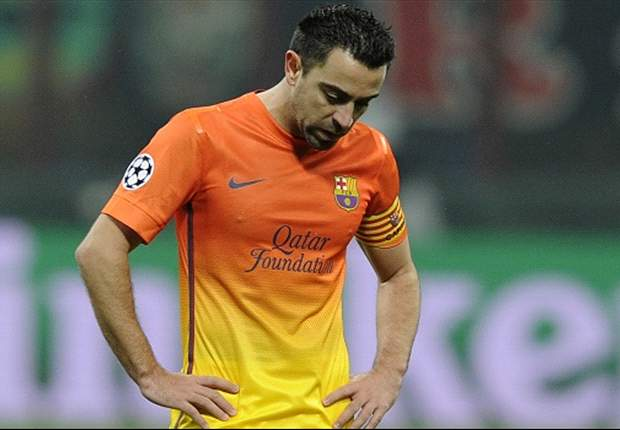 Xavi ruled out of Clasico