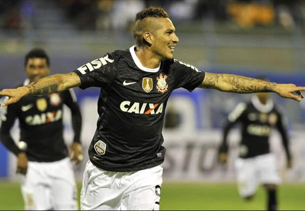 Con gol de Guerrero Corinthians empata con San José en la Libertadores