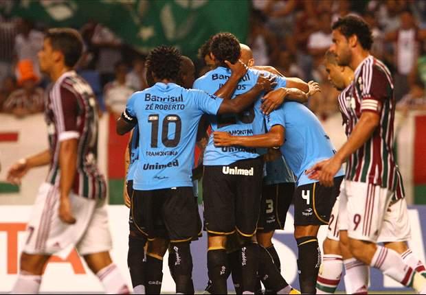 Fluminense 0 x 3 Grêmio: Time gaúcho passeia no Engenhão e mostra que está muito vivo na Libertadores