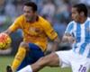 Adriano se retira lesionado en el Málaga - Barcelona
