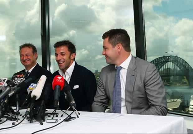 Noch ein Jahr Australien: del Piero verlängert beim FC Sydney