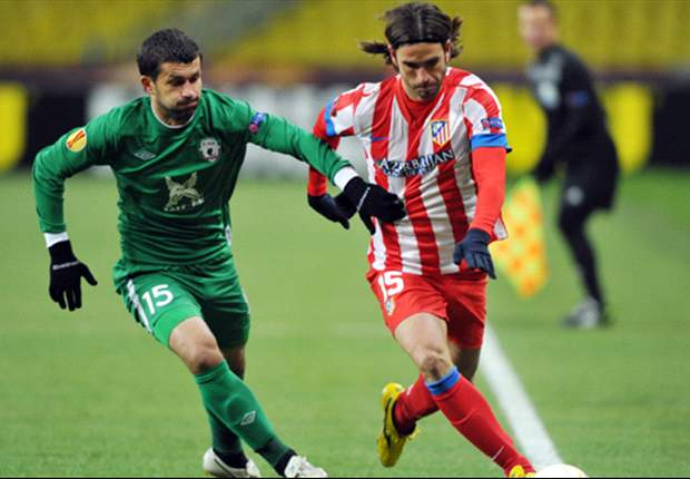 Rubin Kazan 0-1 Atletico Madrid (Agg 2-1): Europa League holders bow out despite Falcao winner