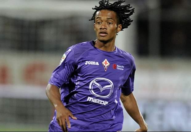 Fiorentina compraría la mitad del pase de Juan Cuadrado