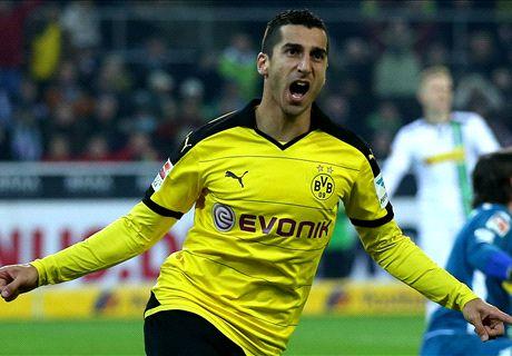 Ratings: M'gladbach 1-3 Dortmund