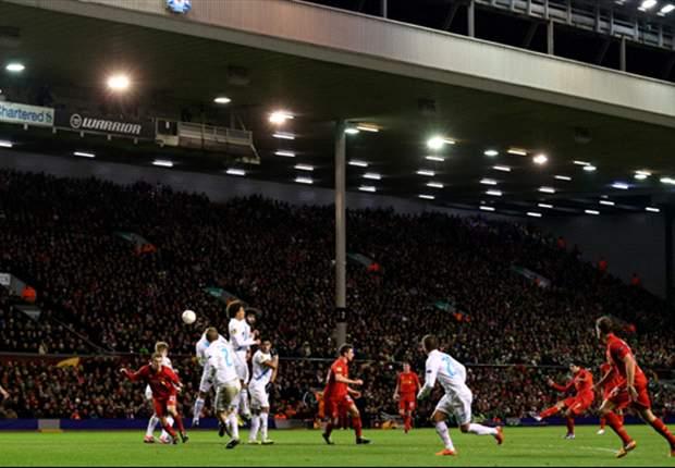 Liverpool 3 x 1 Zenit: Reds vencem, mas são eliminados por gol de Hulk