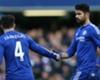 Hoddle: Costa, Fabregas improved