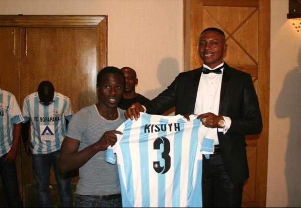 Sofapaka defender Collins Kisuya has been loaned out to Posta Rangers.