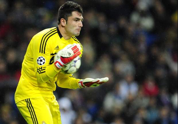 Antonio Adan Bahagia Di Real Madrid