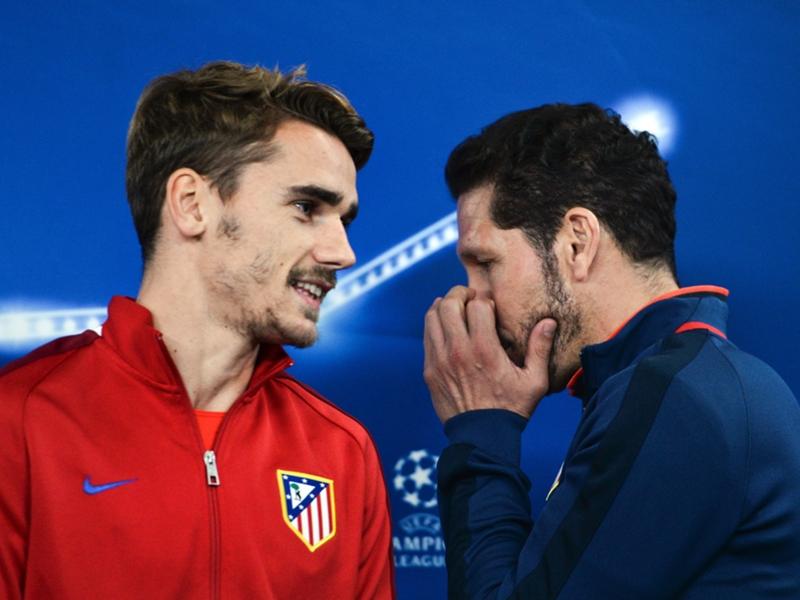 """Atlético Madrid, Simeone : """"Griezmann a répondu à Ribéry de la belle manière"""""""
