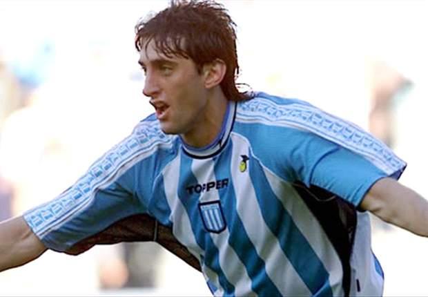 Milito fue campeón con la Academia en el 2001