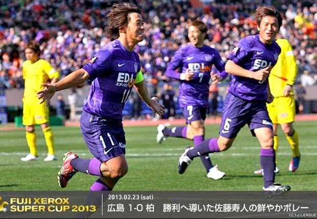 Sanfrecce Hiroshima Juara Piala Super Jepang