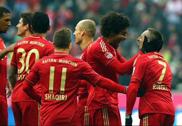 Bayern Munich 6-1 Werder Bremen: Rampant Roten smash Schaaf's side to move 18 points clear