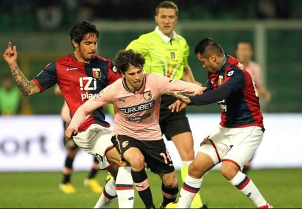 """Pari al 'Barbera', Portanova ammette: """"Tra Palermo e Genoa ha vinto la paura"""". Granqvist in ospedale per accertamenti"""