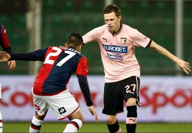 Genoa profiteert niet van tiental Palermo