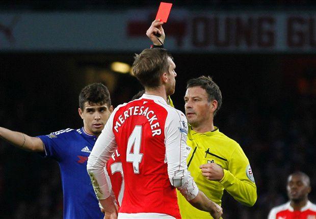 Wenger: Costa got Mertesacker sent off