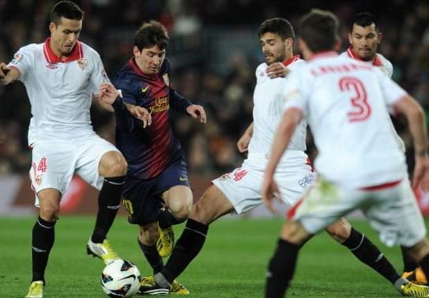 David Villa & Lionel Messi Selamatkan Barcelona