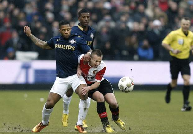 Eredivisie Round 24 Results: Feyenoord beat PSV while Ajax and Twente drop points