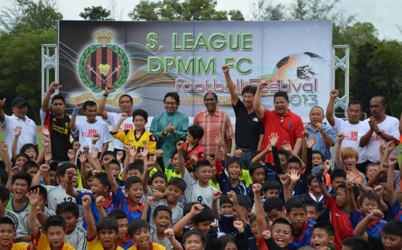 S.League Brunei DPMM Football Festival 2013