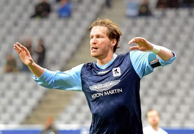 Benjamin Lauth bangt um seinen Stammplatz beim TSV 1860 München