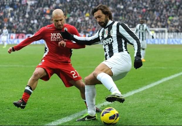 Unbeeindruckt: Juventus schlägt AC Siena mit 3:0