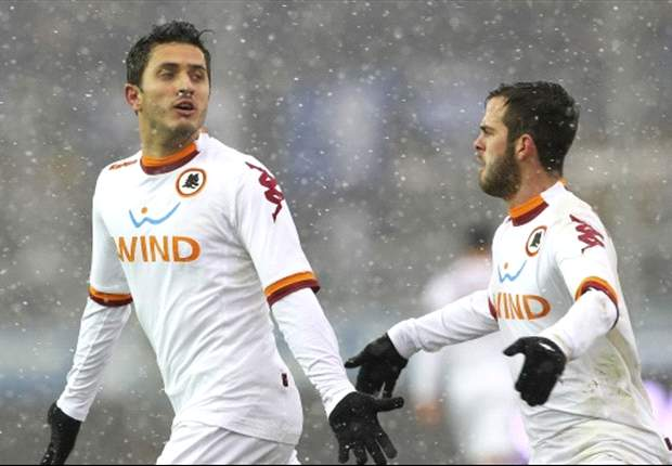 Serie A Round 26 Results: Torosidis to the rescue for Roma, Cagliari star again in seven-goal thriller